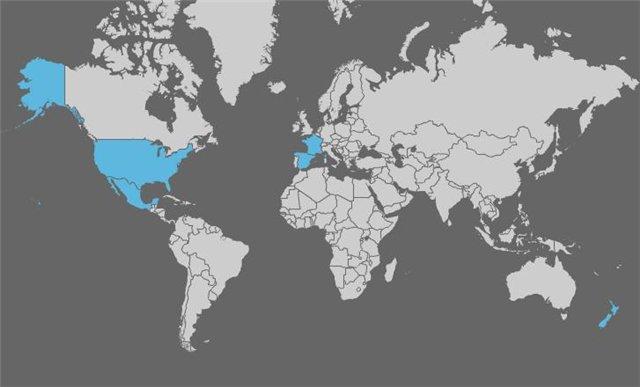 карта распространения гриппа