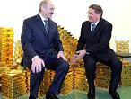Лукашенко в Национальном банке