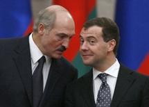 Лукашенко и Медведев