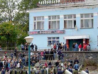 Беспорядки в Кондопоге. Фото с сайта cityk.ru