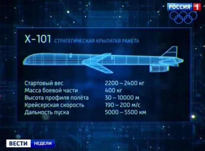 Крылатая ракета X-101