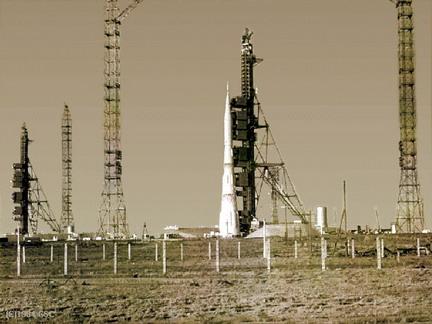 Ракета Н-1 на старте