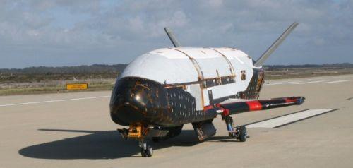 X-37B после посадки