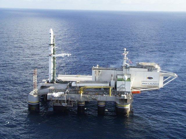 Морской космодром Sea Launch c ракетой Зенит-3SL