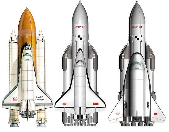 Space Shattle, Буран и проект 305-1 Лозино-Лозинского