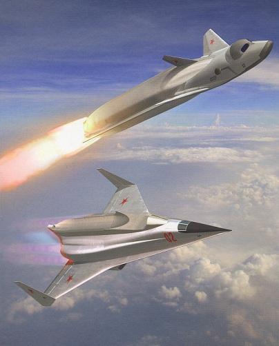 Воздушно-орбитальный самолёт Спираль