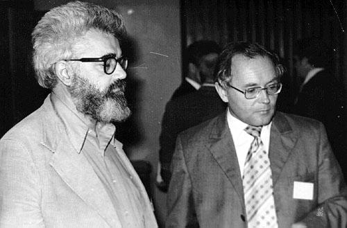 Джон Маккарти и Андрей Ершов, 1975 год.