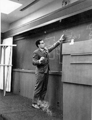 Андрей Ершов делает доклад в корпорации RAND, 1965 год.